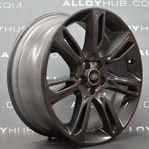"Genuine Range Rover Evoque L538 19"" inch Style 7007 7 Split-Spoke Alloy Wheels with Gloss Grey Finish LR072001"