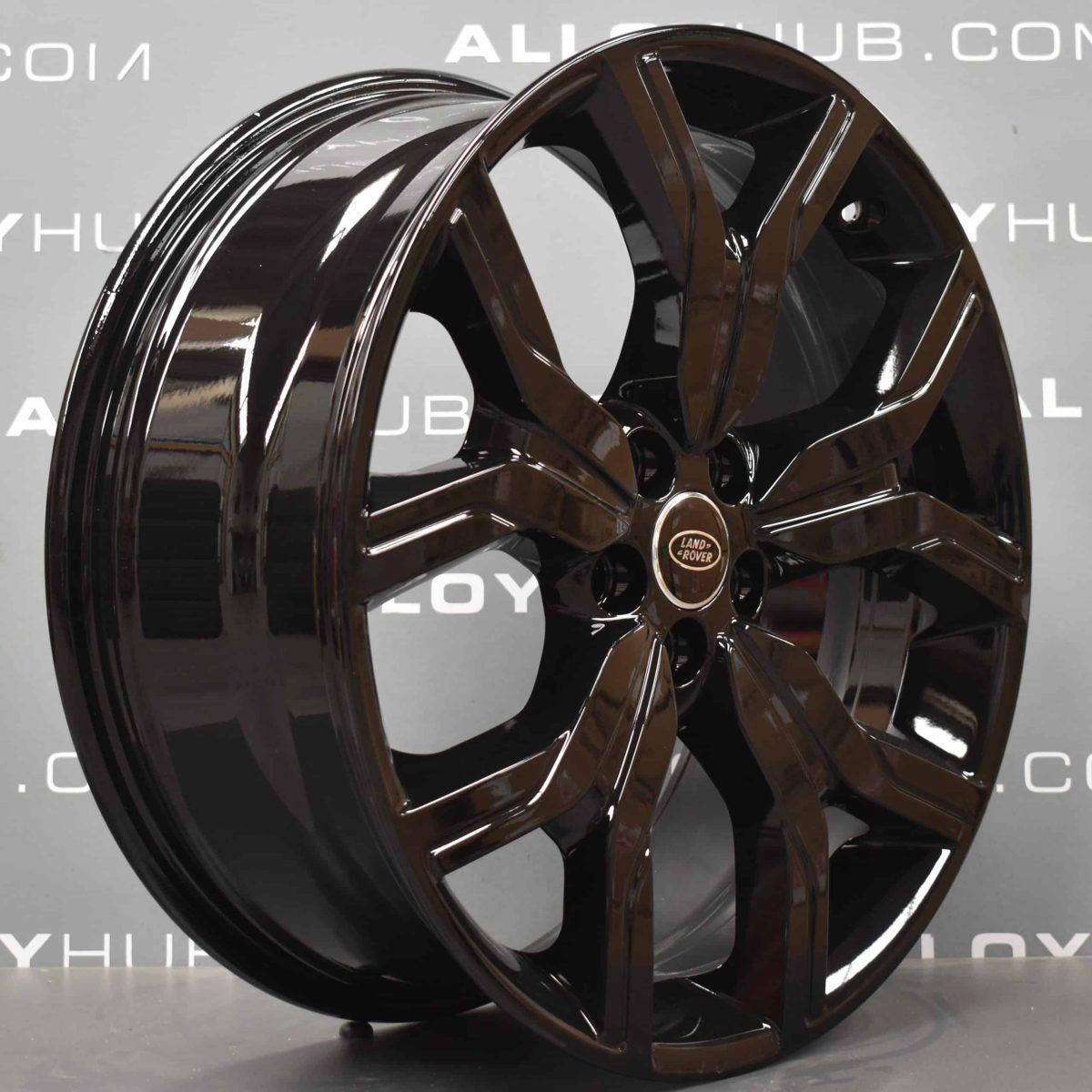 "Genuine Range Rover Evoque L538 20"" inch Style 527 5 Split-Spoke Gloss Black Alloy Wheels EJ3M1007BB"