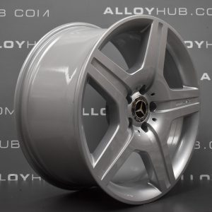 "MERCEDES-BENZ ML W164 19"" 5 Spoke Silver Alloy Wheel"