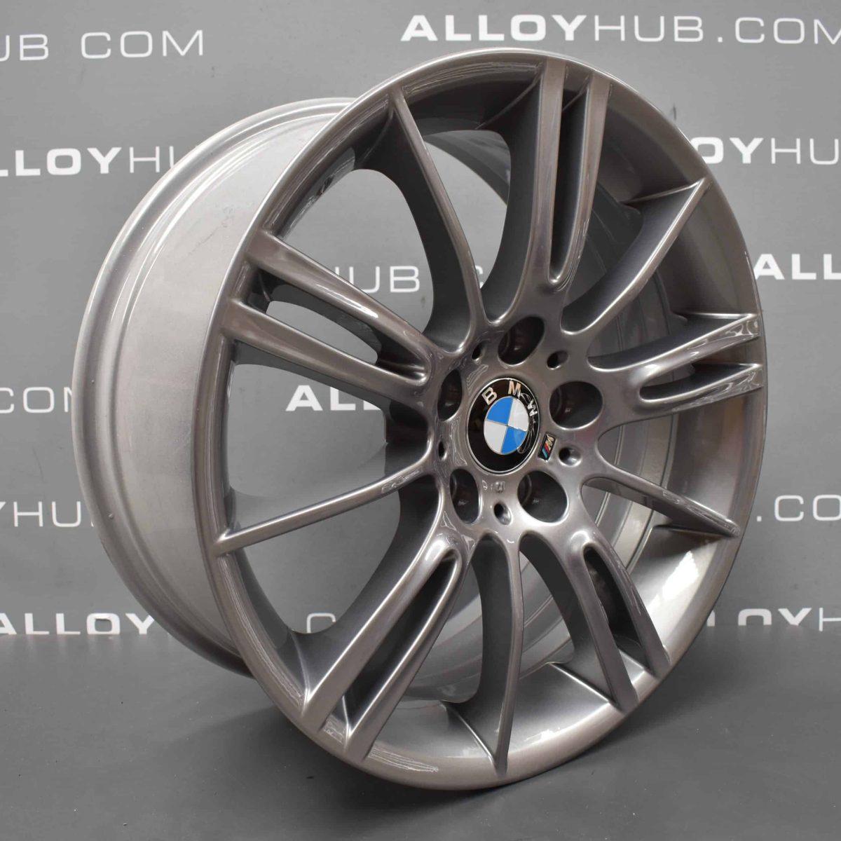 """BMW 3 Series MV3 193M Sport Ferric Grey 18"""" Alloy Wheel"""