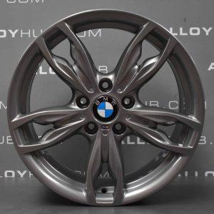 "Genuine BMW 1/2 Series 436M Sport 18"" Inch Alloy Wheels with Ferric Grey Finish 36117845870 36117845871"