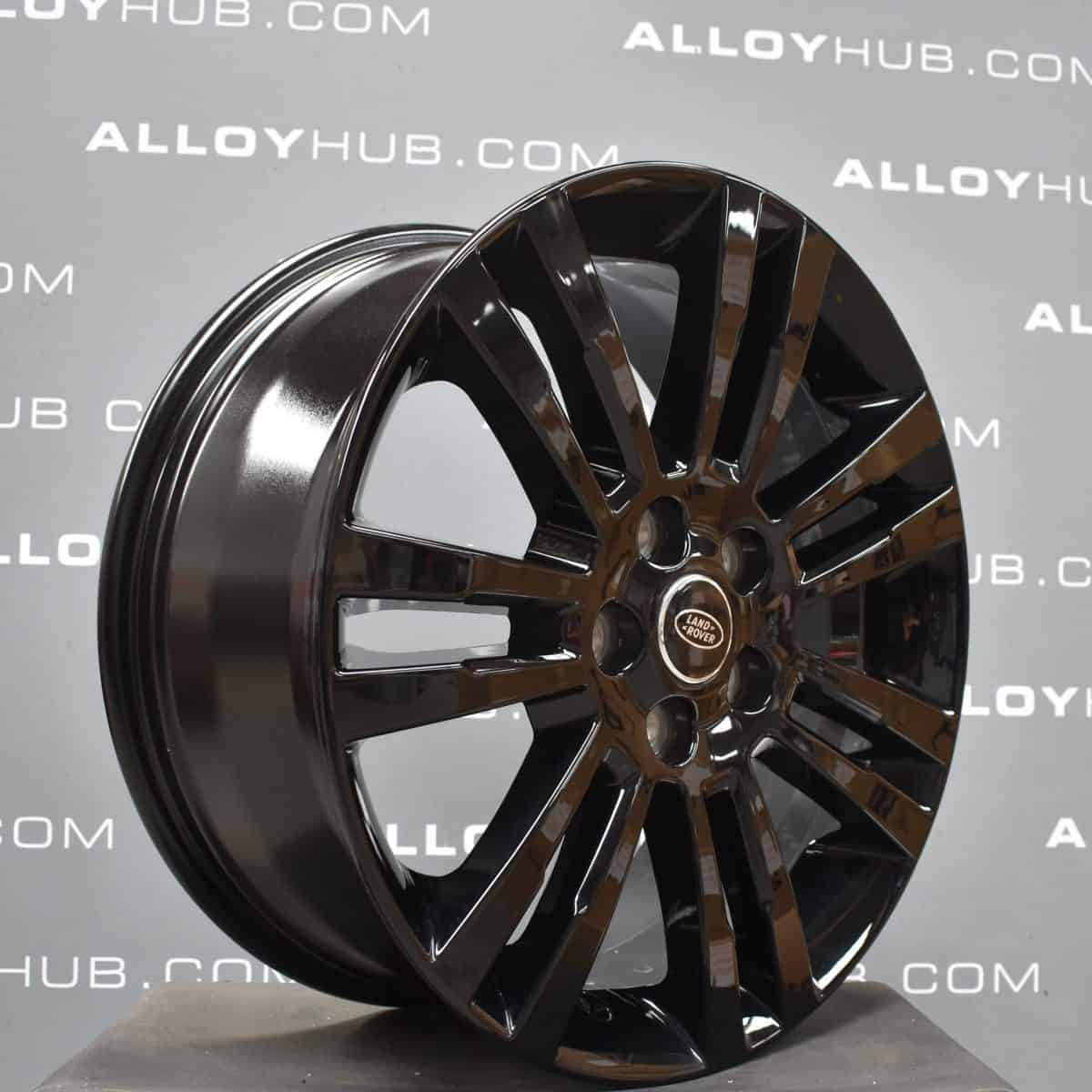 """Genuine Land Rover Discovery 4/3 19"""" Inch 7 Spoke Style 704 with Gloss Black Finish Alloy Wheels LR050886"""