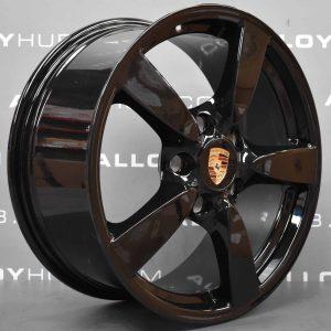 "Porsche Cayman 5 Spoke Gloss Black 18"" Alloy Wheel"
