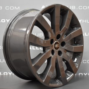 """Genuine Land Rover Range Rover Supercharged V Spoke 20"""" Inch Alloy Wheels with Anthracite Grey Finish LR008742"""