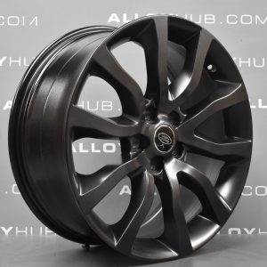 "Genuine Land Rover Range Rover Style 12 5020 20"" inch 5 Split Spoke Tech Grey Alloy Wheels VPLWW0090"
