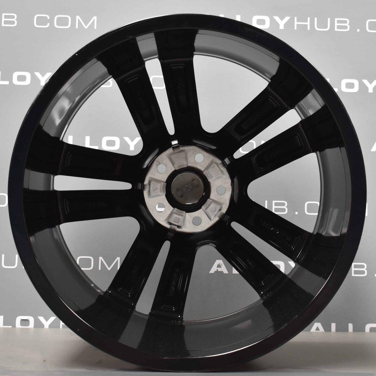 Genuine Audi Q7 4M 20″ Inch 5 Twin Spoke Alloy Wheels with Gloss Black Finish 4M0 601 025 H