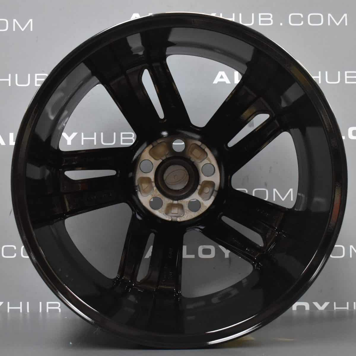 """Genuine Land Rover Range Rover Sport L320 Red Edition 5 Split Spoke 20"""" Inch Alloy Wheels with Gloss Black Finish DH3M-1007-CAW"""