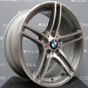 "BMW 3 Series 313M Sport 19"" Grey/Diamond Turned Alloy Wheel"