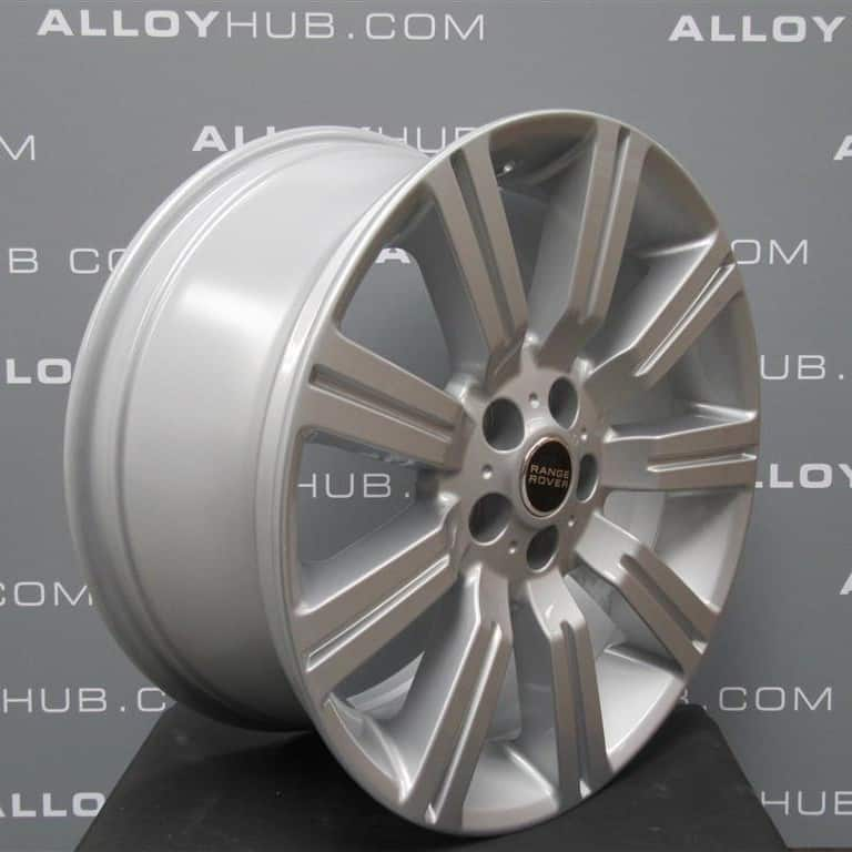 "Genuine Range Rover Stormer L322 Vogue/ L320 Sport 20"" inch 9 Spoke Sparkle Silver Alloy Wheels LR028995"