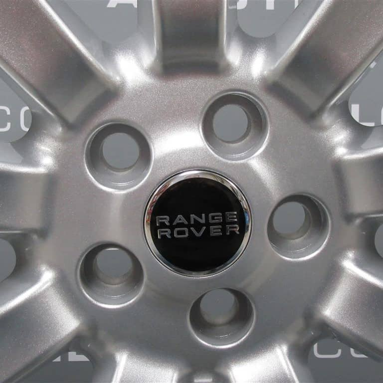 """Genuine Range Rover Range Rover L322 Vogue Supercharged 20"""" Inch 9 Spoke Alloy Wheels in Sparkle Silver Finish RRC502690XXX"""