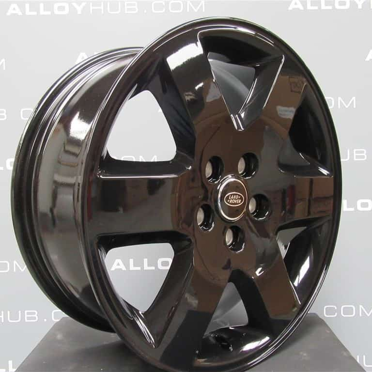 """Genuine Land Rover Discovery 4/3 19"""" Inch 6 Spoke Alloy Wheels with Gloss Black Finish RRC002900MNH"""