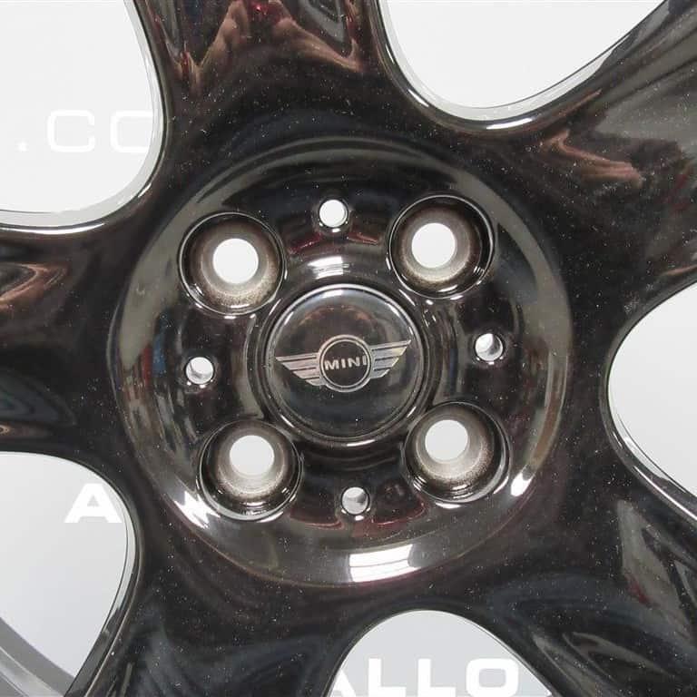 MINI Cooper S Bullet 5 Spoke Black 17″ Alloy Wheel