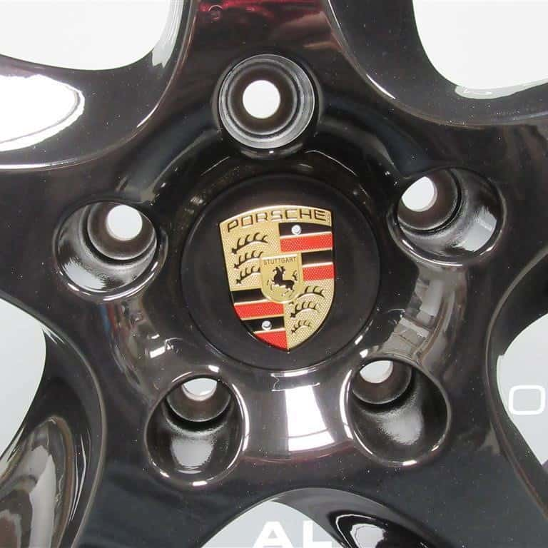 "Porsche Cayenne 5 Twist Spoke Gloss Black 20"" Alloy Wheel"