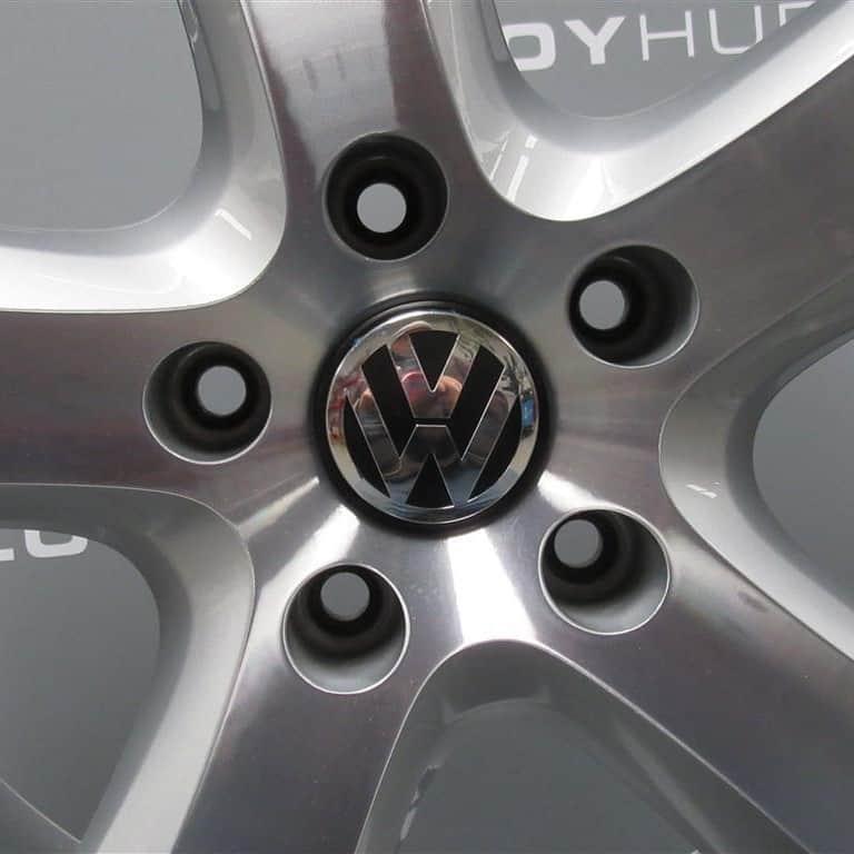 "Volkswagen Touareg 5 Spoke Silver/Diamond Turned 20"" Alloy Wheel"