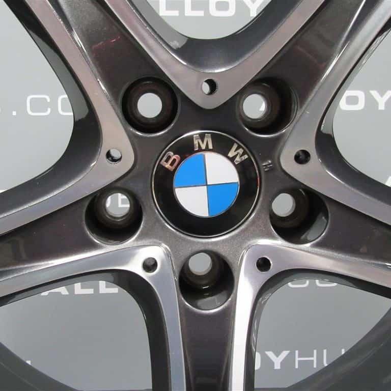 "BMW 3/4 Series 361 M Sport 20"" Grey/Diamond Turned Alloy Wheel"