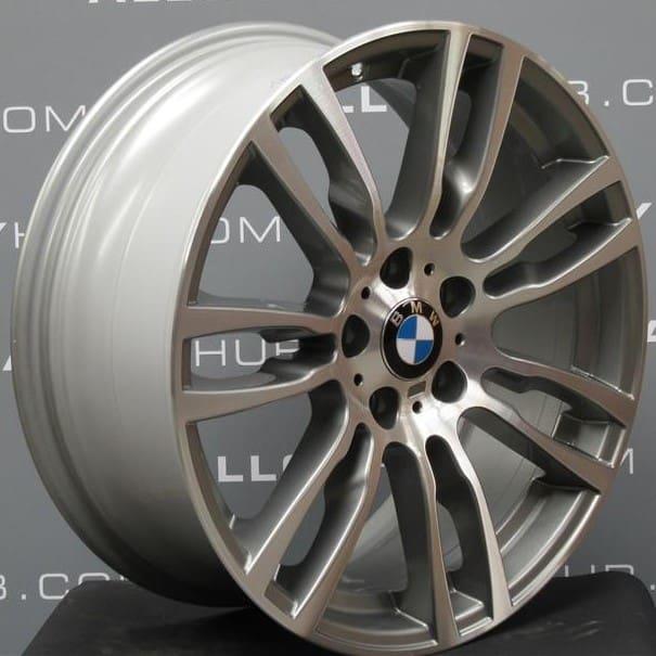 Genuine BMW 3/4 Series Style 403M Sport 19″ Inch Alloy Wheel with Ferric Grey & Diamond Turned Finish 36117845882 36117845883