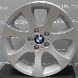 """Genuine BMW 3 Series E90 E91 E92 E93 Style 162 18"""" inch Alloy Wheels with Silver Finish 36116775601 36116775602"""