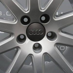 """Genuine Audi TT/TTS 8J MK2 18"""" Inch S-line Speedline 10 Spoke Alloy Wheels with Silver Finish 8J0 601 025 AA"""