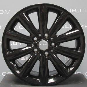 """Genuine Mini Cooper F55 F56 F57 499 Cosmos Spoke 17"""" inch Alloy Wheels with Gloss Black Finish 36116855109"""