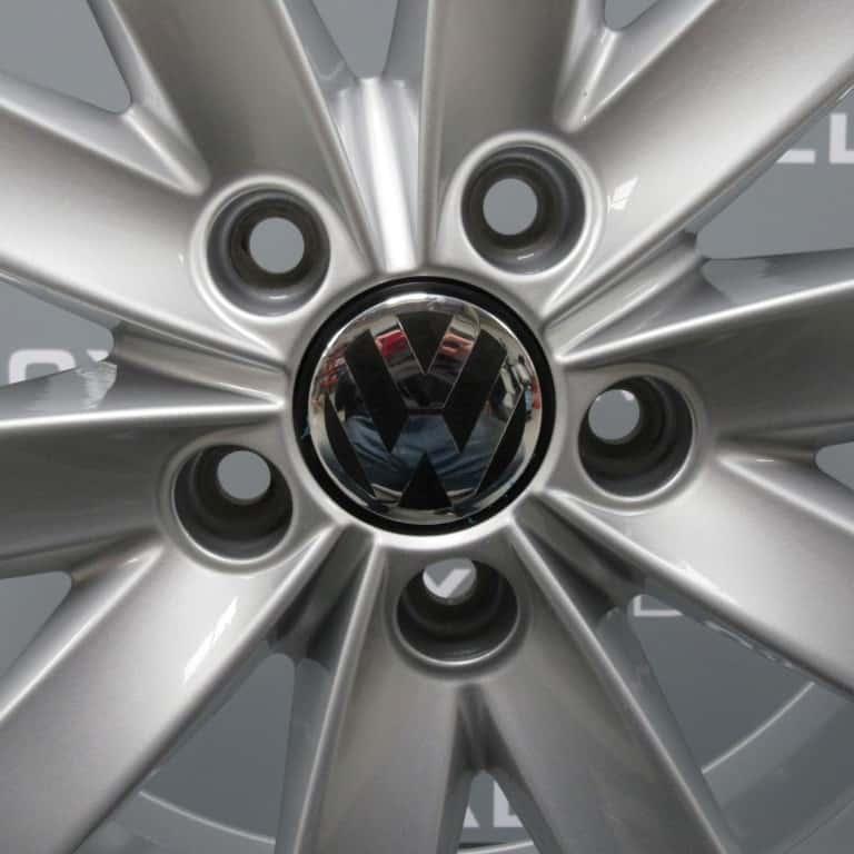 "Volkswagen Golf MK6 Porto 17"" Silver 10 Spoke Alloy Wheel"