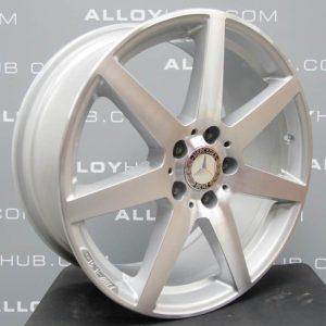 "Mercedes-Benz AMG C CLASS W204 7 Spoke Diamond Turned 18"" Alloy Wheel"