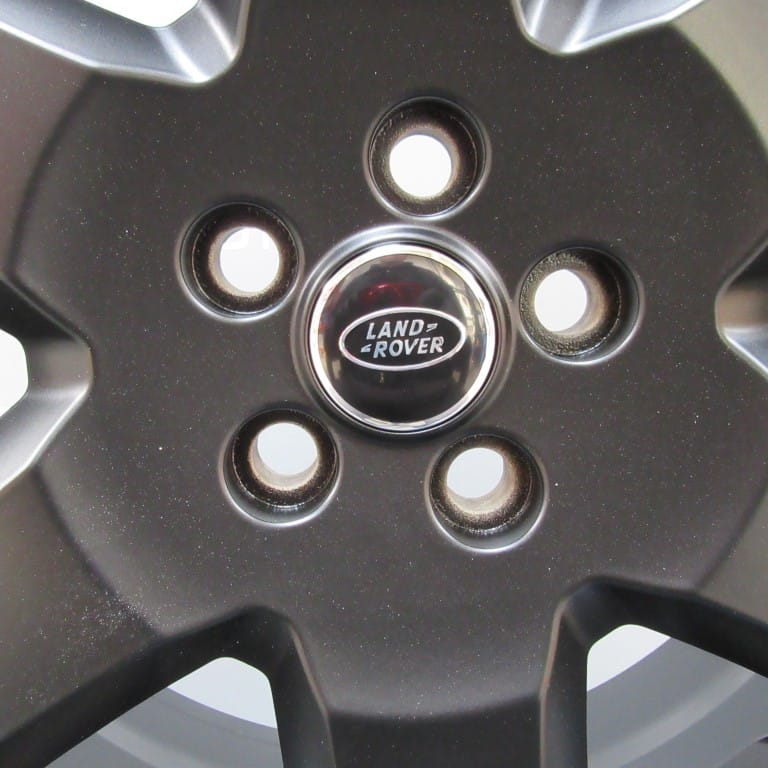 """Genuine Land Rover Discovery 4/3 19"""" Inch 6 Spoke Alloy Wheels with Satin Black Finish RRC002900MNH"""
