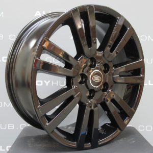 """Genuine Land Rover Discovery 4/3 19"""" Inch 7 Split-Spoke Style 702 with Gloss Black Finish Alloy Wheels LR051523"""