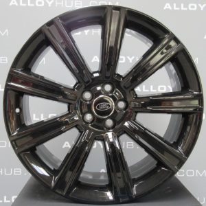 """Genuine Range Rover Evoque L538 Style 9001 Forged 9 Spoke 20"""" inch Alloy Wheels with Gloss Black Finish VPLVW0094"""