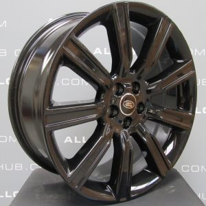 "Genuine Range Rover Evoque L538 Style 9001 Forged 9 Spoke 20"" inch Gloss Black Alloy Wheels VPLVW0094"