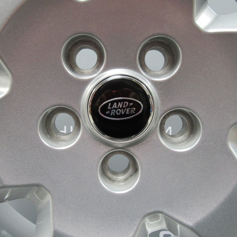 """Genuine Land Rover Discovery 4/3 19"""" Inch 6 Spoke Alloy Wheels with Sparkle Silver Finish RRC002900MNH"""