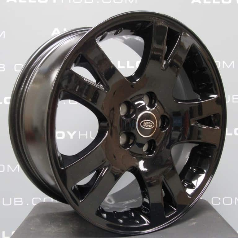 """Genuine Land Rover Range Rover 5 Twin Spoke 19"""" Inch Alloy Wheels with Gloss Black Finish RRC502280XXX"""