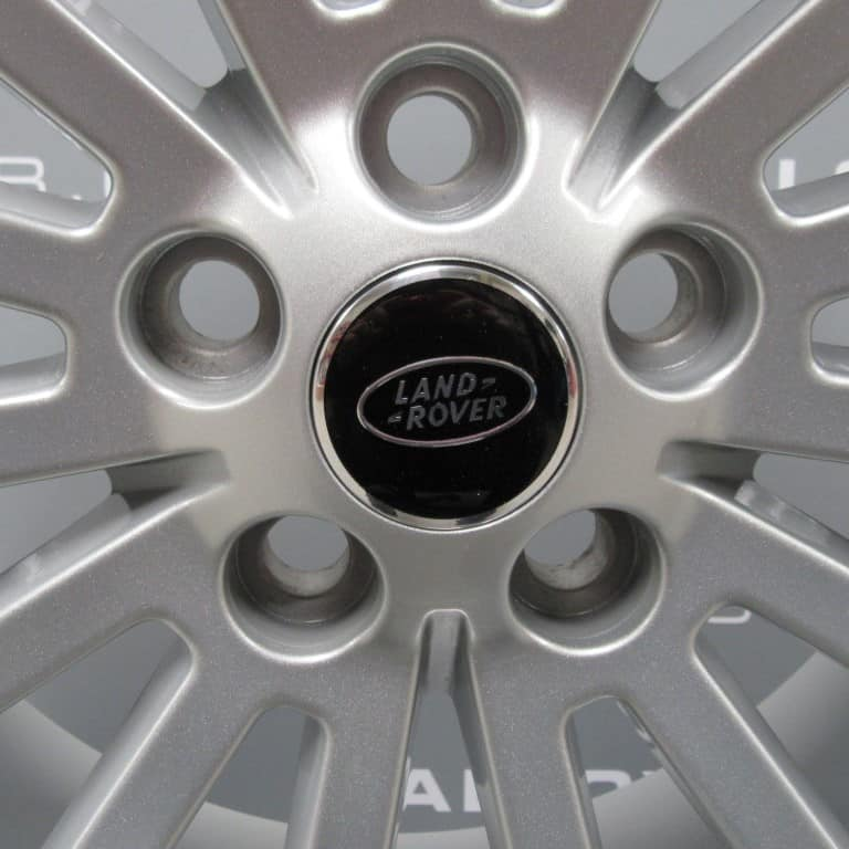 """Genuine Land Rover Range Rover 15 Spoke 19"""" Inch Alloy Wheels with Sparkle Silver Finish AH32-1007-AAW"""