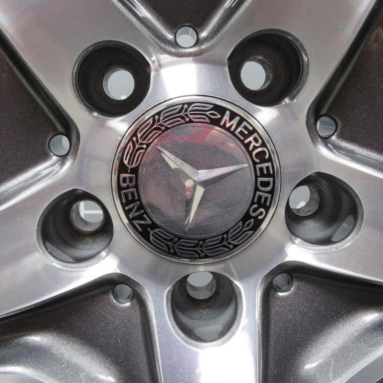 """Mercedes-Benz ML/GLE W166 AMG 21"""" Grey/Polished Alloy Wheel"""