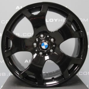 Genuine BMW X5 Style E53 Style 63 M Sport Tiger Claw 19″ inch Alloy Wheels with Gloss Black Finish 36111096231 36111096228