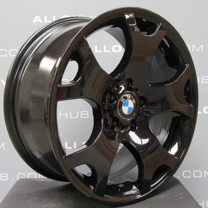 """BMW X5 Style E53 Style 63 M Sport Tiger Claw 19"""" Gloss Black Alloy Wheel"""