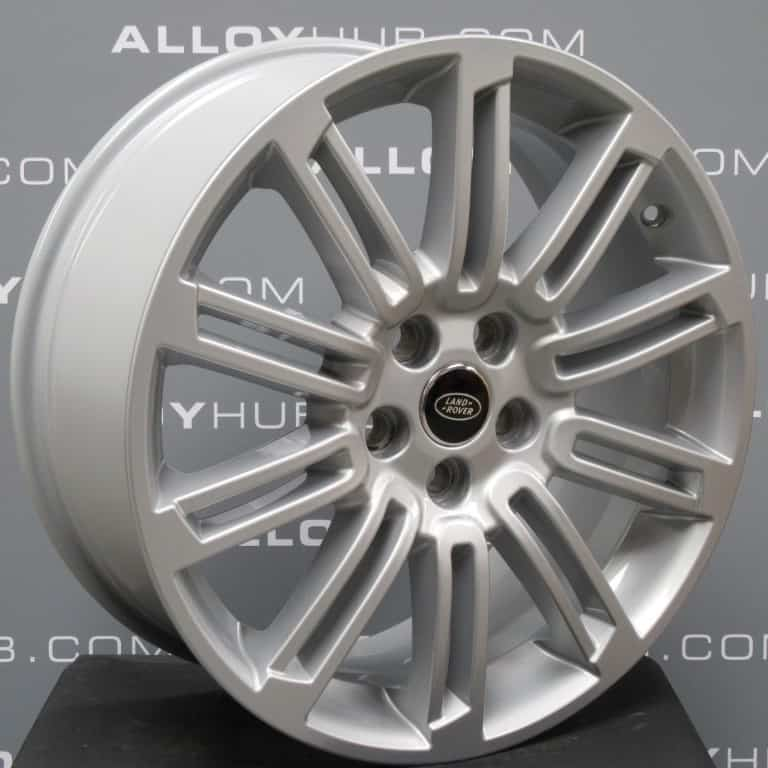 """Genuine Land Rover Discovery 4/3 20"""" Inch 10 Spoke Style 104 Silver Alloy Wheels VPLAW0003"""