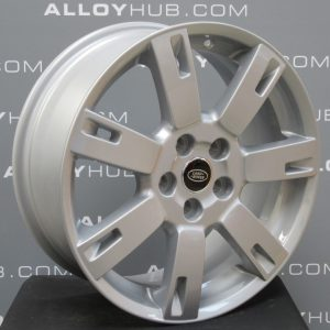 """Genuine Land Rover Discovery 4/3 19"""" Inch 7 A Spoke Style 701 with Sparkle Silver Finish Alloy Wheels LR008547"""