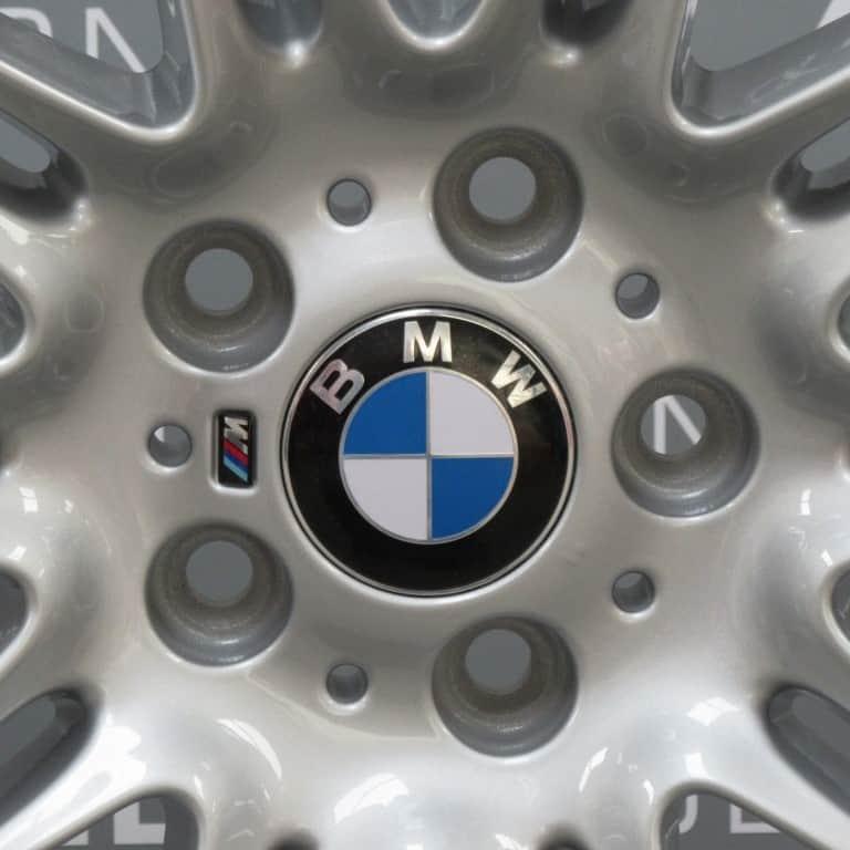 "BMW 3 Series MV4 225 M Sport Silver 19"" 10 Double Spoke Alloy Wheel"