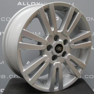 """Genuine Land Rover Discovery 4/3 19"""" Inch 7 Split-Spoke Style 702 with Sparkle Silver Finish Alloy Wheels LR051523"""