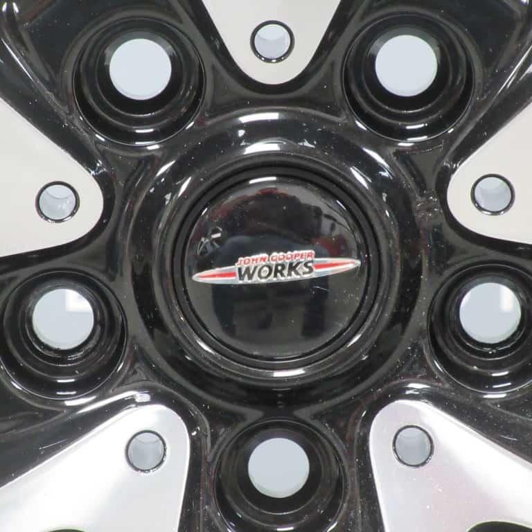 """MINI COUNTRYMAN JCW Cross Spoke Black & Polished 19"""" Alloy Wheel"""