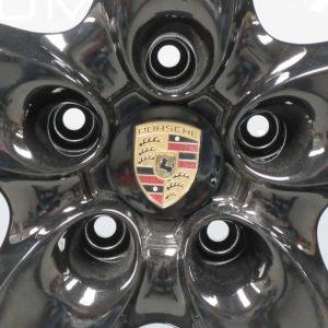 """Porsche Cayenne 5 Spoke Gloss Black 18""""Alloy Wheel"""