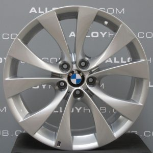 "Genuine BMW X5 E70 E71 Style 227M Sport 10 Spoke 20"" inch Alloy Wheels with Silver Finish 36118037349 36118037350"