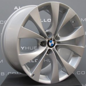 """BMW X5 E70/E71 227M Sport 20"""" 10 Spoke Silver Alloy Wheel"""