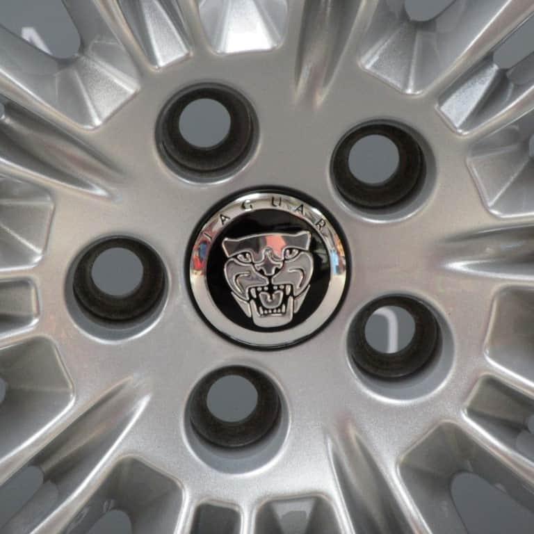"JAGUAR XJ Kasuga 10 Split Spoke 20"" Silver Alloy Wheel"