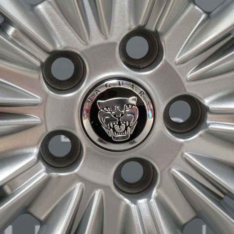 "JAGUAR XF Caravela 10 Split Spoke 19"" Silver Alloy Wheel"