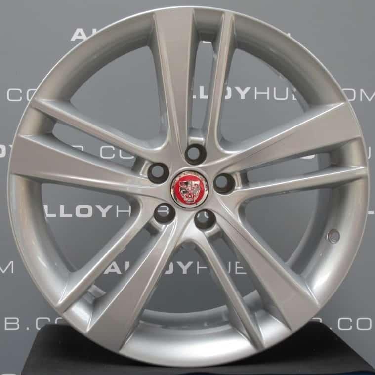 "Genuine Jaguar F-Type R Cyclone 20"" inch Alloy Wheels with Silver Finish EX53-1007-GAA EX53-1007-HAA"