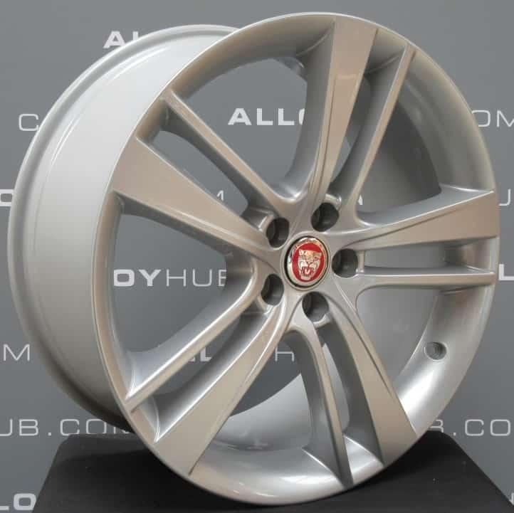 "Jaguar F-Type R Cyclone 20"" Silver Alloy Wheel"