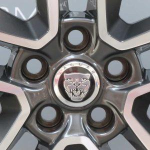 """Jaguar F-Type Style 5058 5 Twin Spoke 19"""" Grey & Polished Alloy Wheel"""
