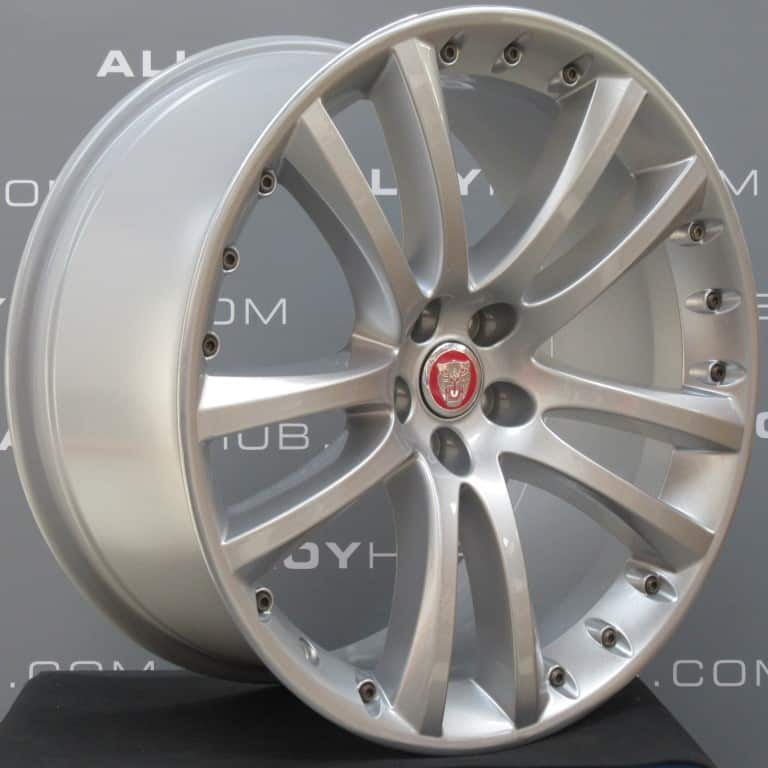 "JAGUAR XK Senta 5 Twin Spoke 20"" Silver Alloy Wheel"