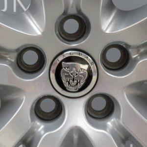 """JAGUAR XJ Tobia 5 Twin Spoke 19"""" Silver Alloy Wheel"""
